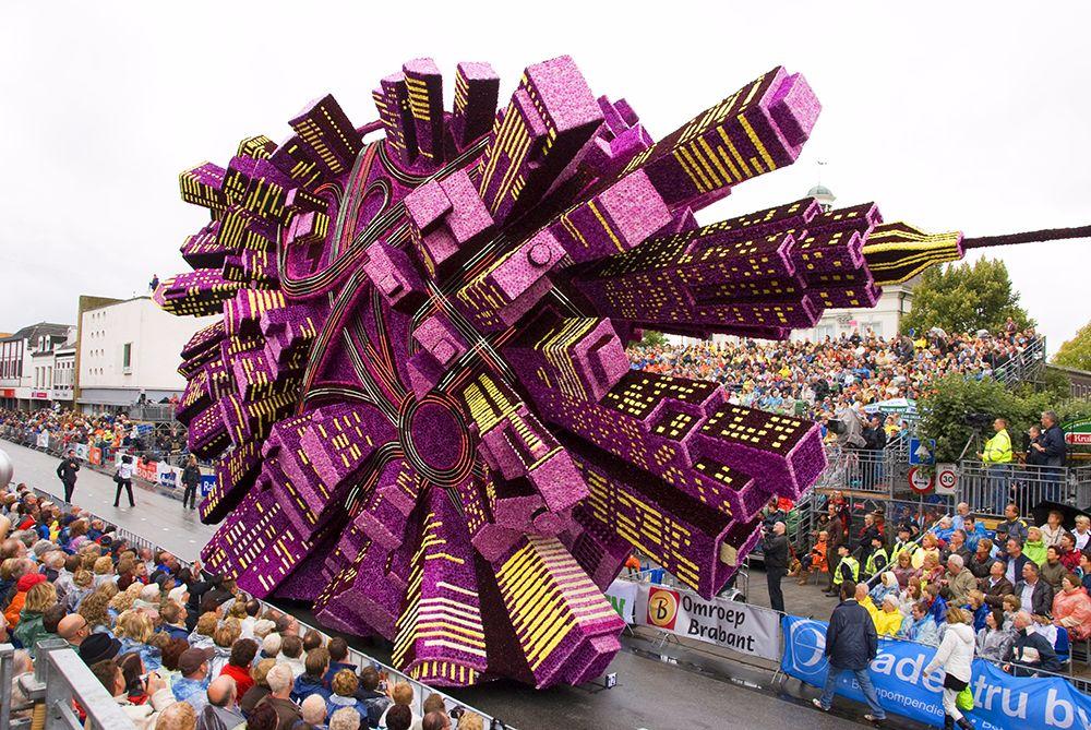 Фестиваль цветов в голландии 2017
